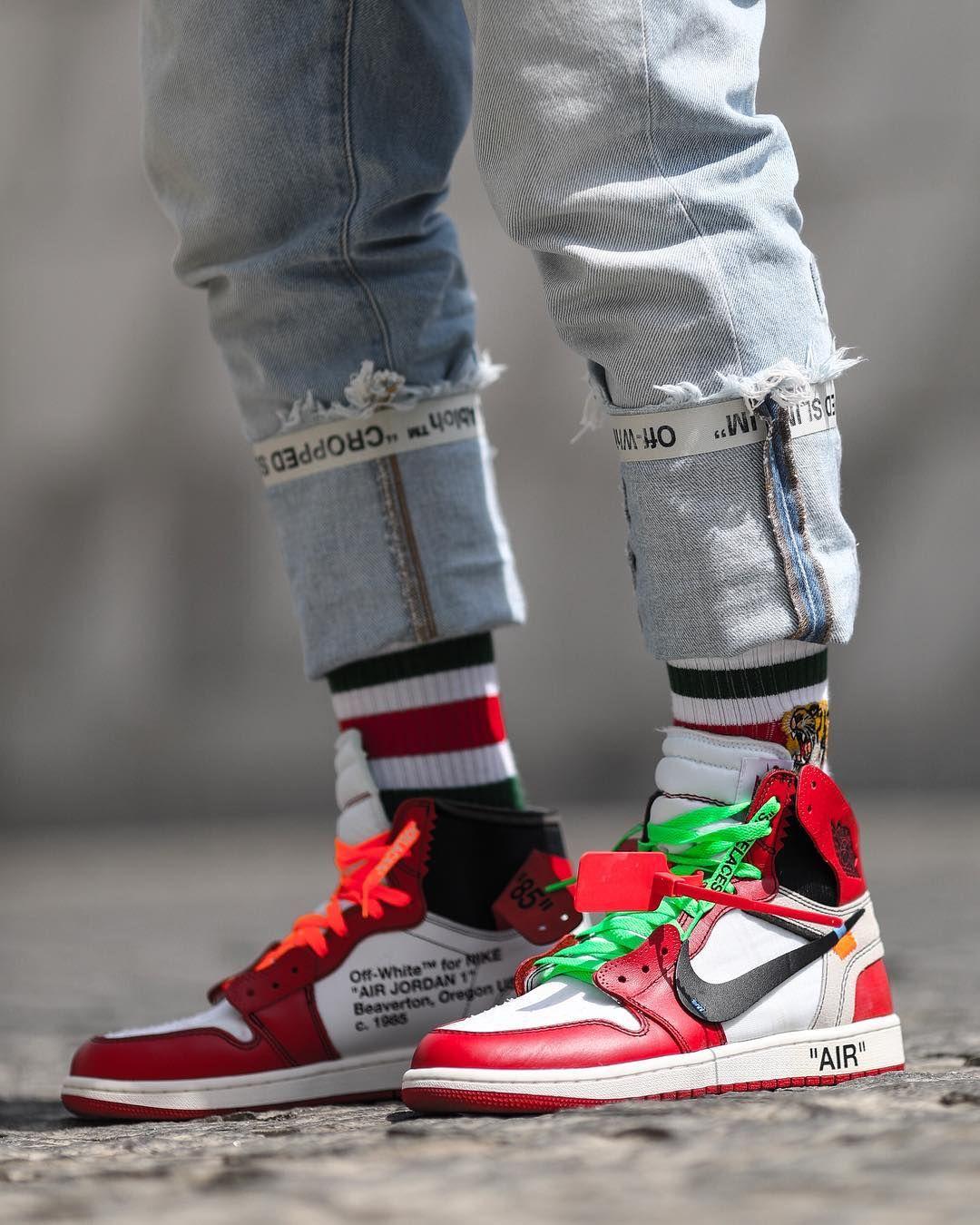 Off White Air Jordan 1 Sneakers Men Fashion Sneakers Sneakers Fashion