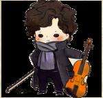 Sherlock by ~laalaachii on deviantART