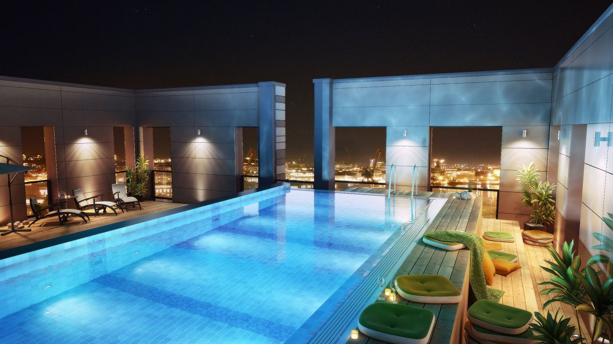 home swimming pools at night. Lower Fittings Gentle · Swimming Pool Home Pools At Night