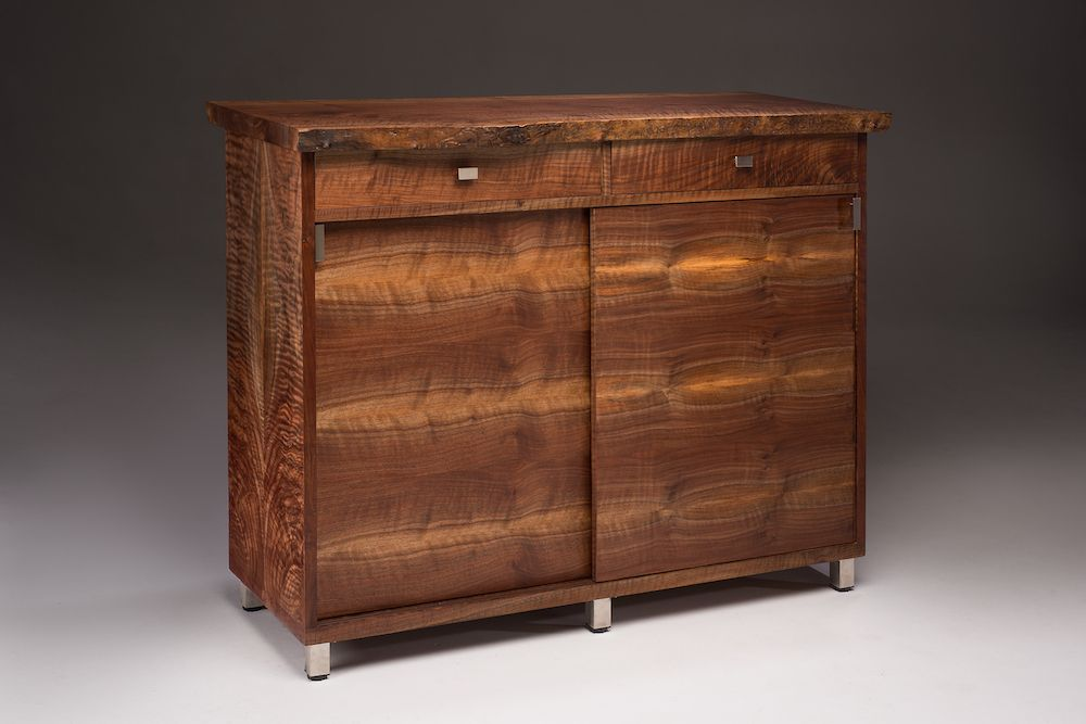 Endearing Stand Alone Bar Cabinet I Made This Stand Alone Bar Cabinet To Match This Sideboard Http Bar Cabinet Cabinet Sideboard