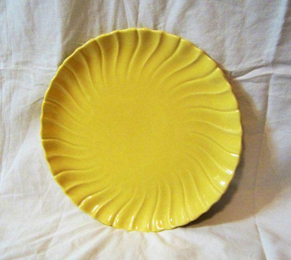 Coronado Swirl Round Yellow or white by MrsFranksCollection, $15.00