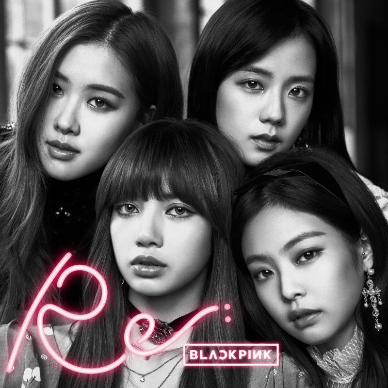 Official Blackpink For Re Blackpink Japanese Album Lisa Jisoo