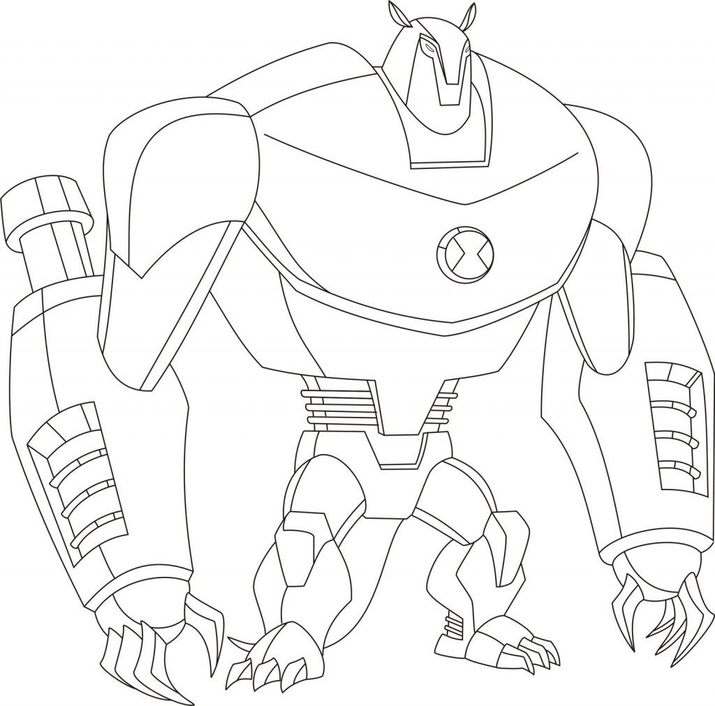 Free Printable Ben 10 Coloring Pages For Kids In 2020 Ben 10 Bunny Coloring Pages Coloring Pages