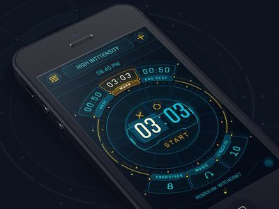 futuristic interface - Google zoeken | Mobile Inspiration ...
