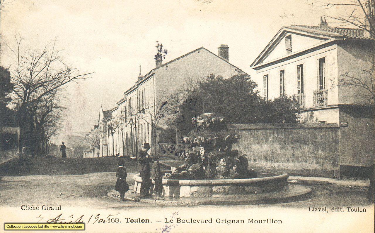 Fontaine Des Canards Toutes Les Maisons A Droite Existent Toujours Toulon Hyeres Photos Anciennes