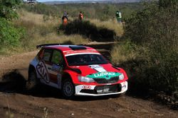 Didier Arias, Hector Nunes, Skoda Fabia R5
