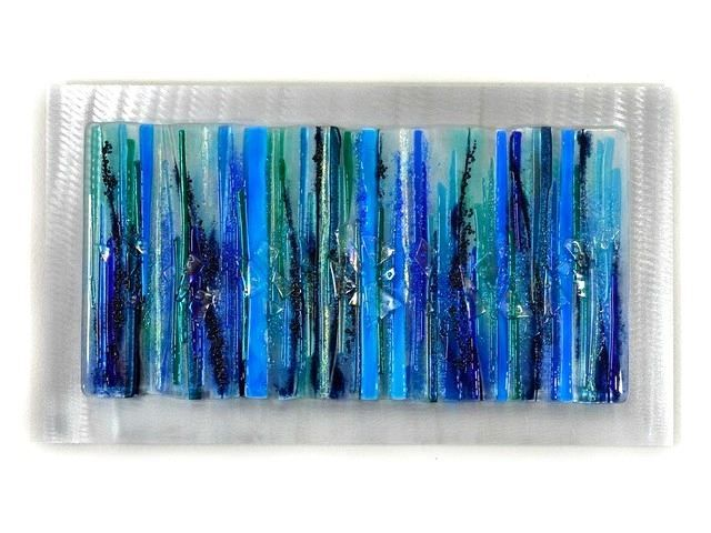 Stars above 102 glass wall panel glass artists gallery