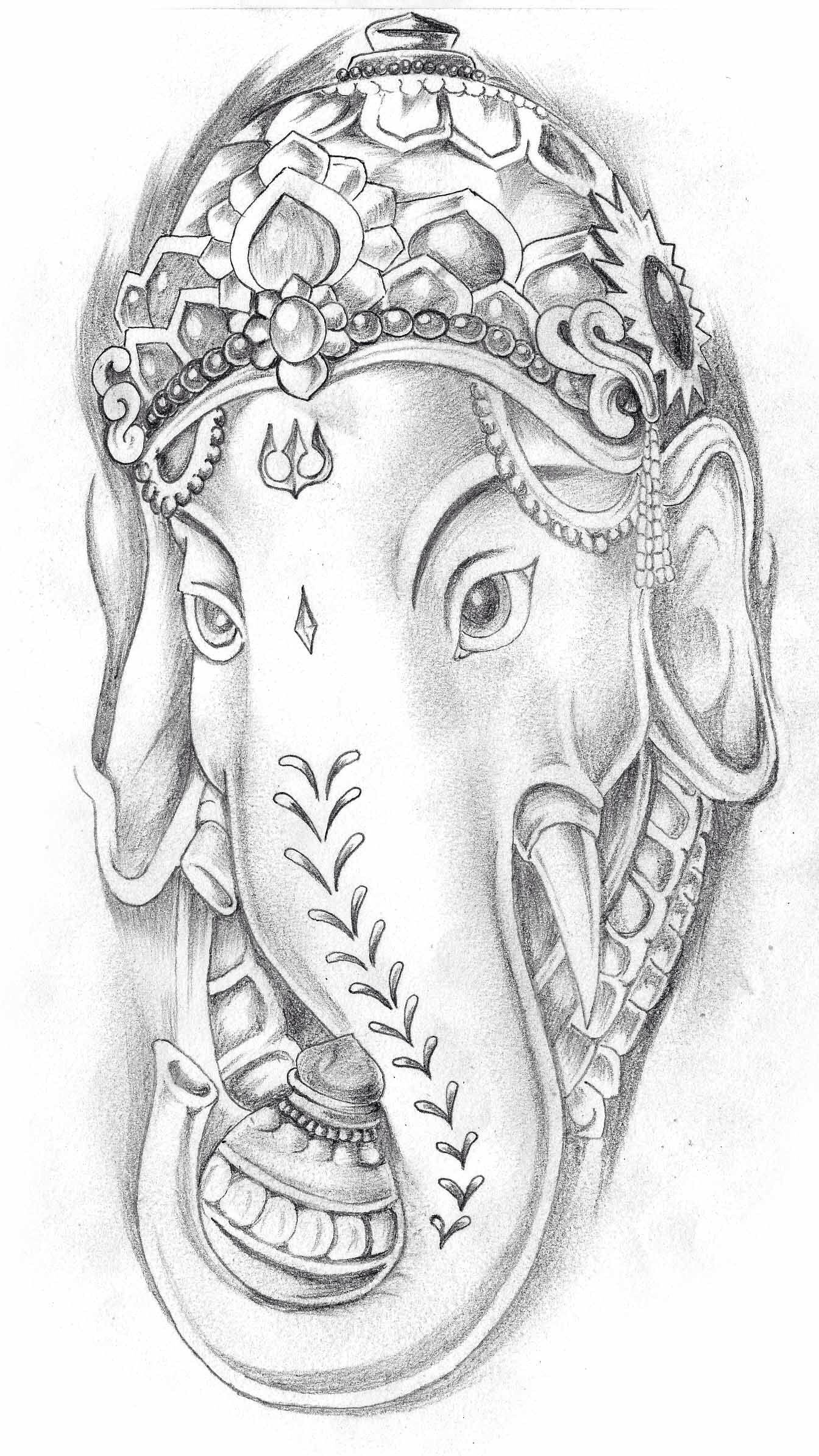Ganesh Ganesha Tattoo Ganesh Tattoo Elephant Tattoos