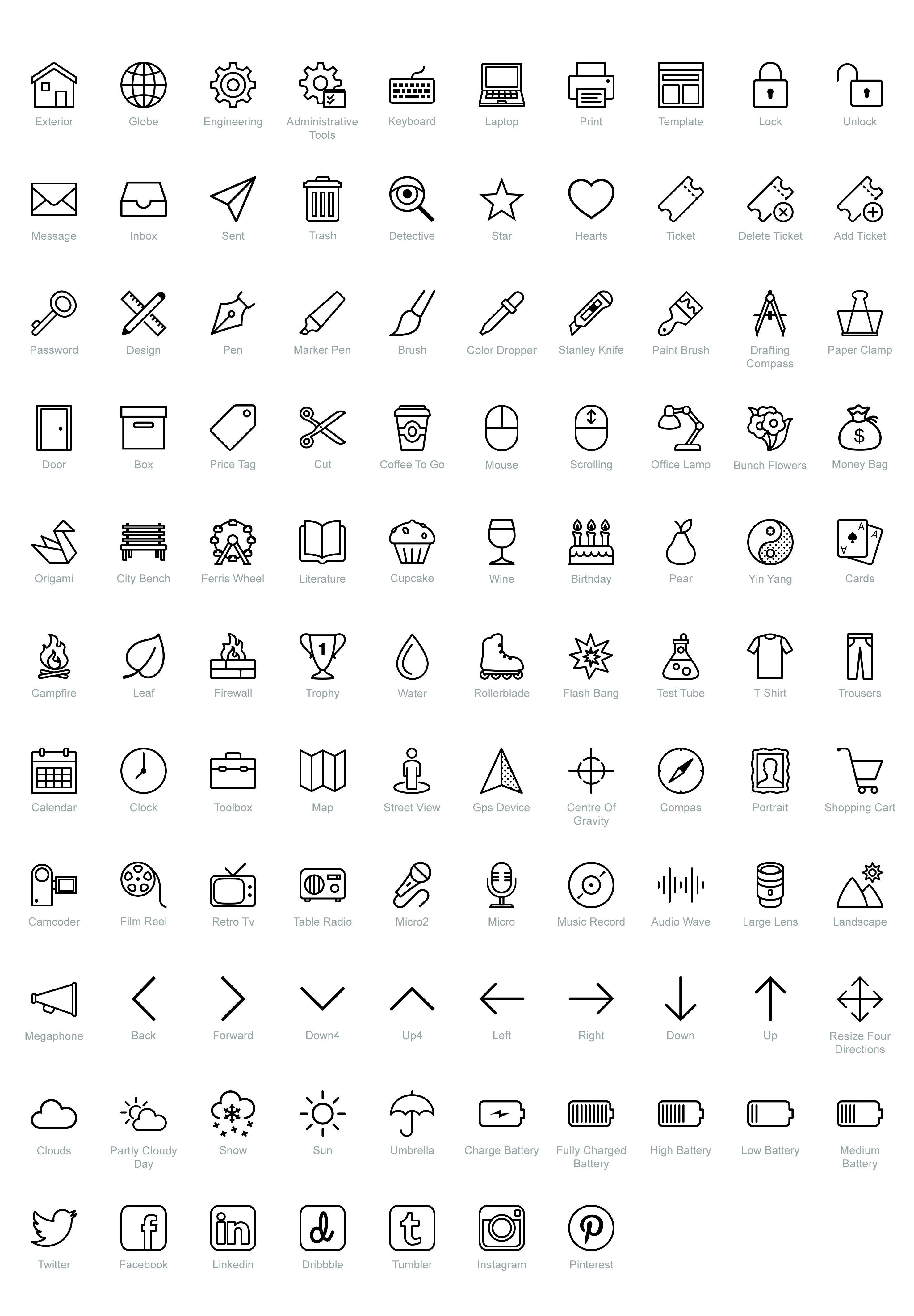100+ free PSD icons for iOS [+ bonus] by Icons8 Resume