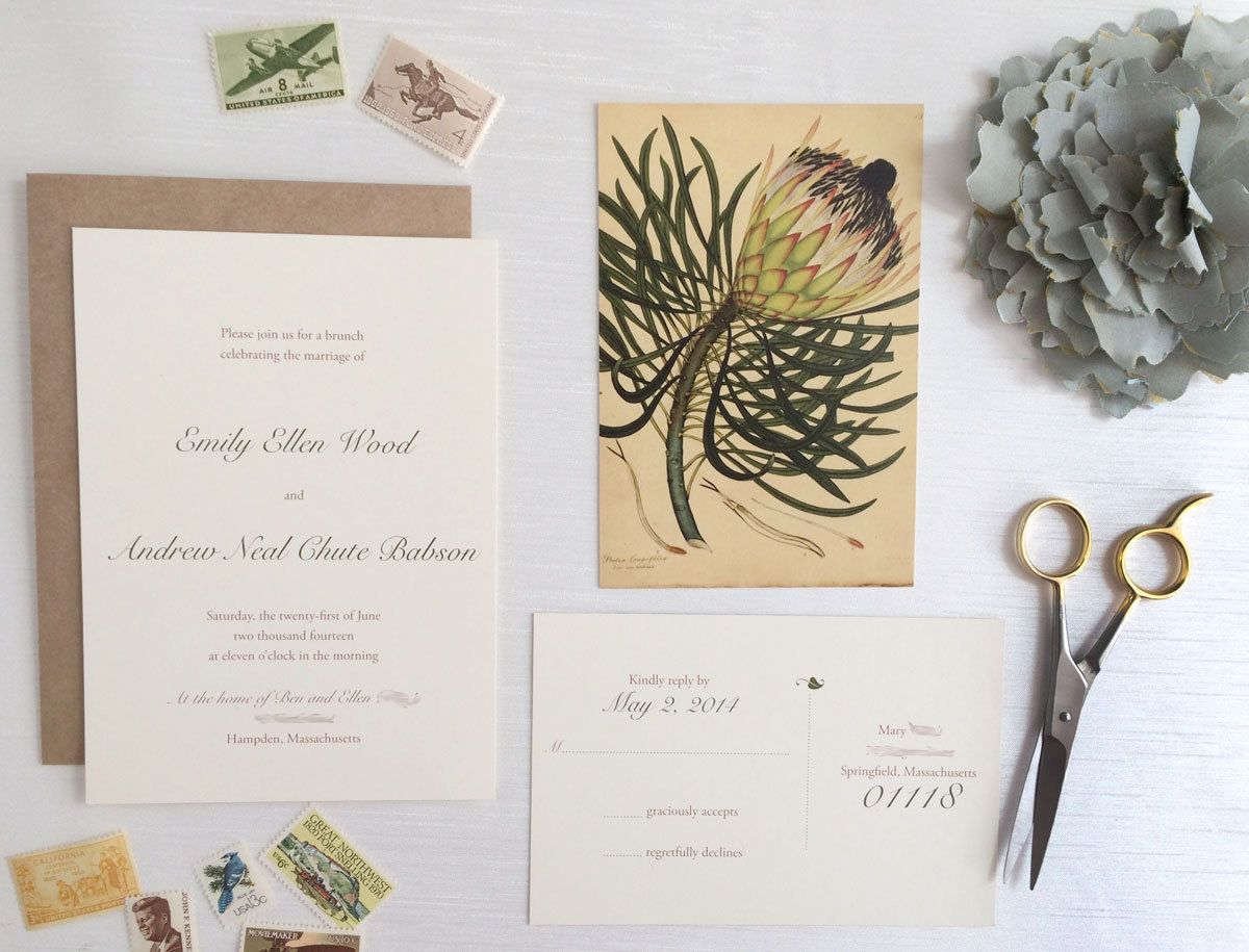 Rustic Garden Party Invitation Deposit by AmandaDayRose on ...