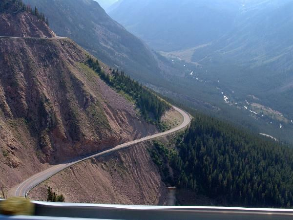 beartooth mountain highway entrance road to yellowstone from montana quite exciting in a 36 foot camper yellowstone trip road trip usa places to travel pinterest
