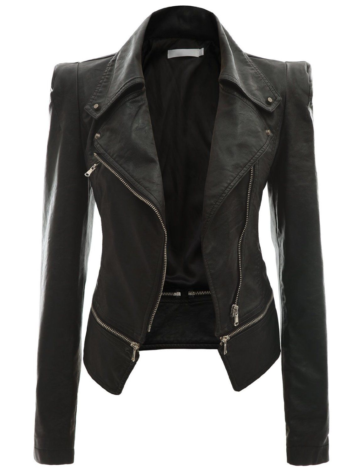 Image for Black Leather Jacket For Women | Outfits | Pinterest ...
