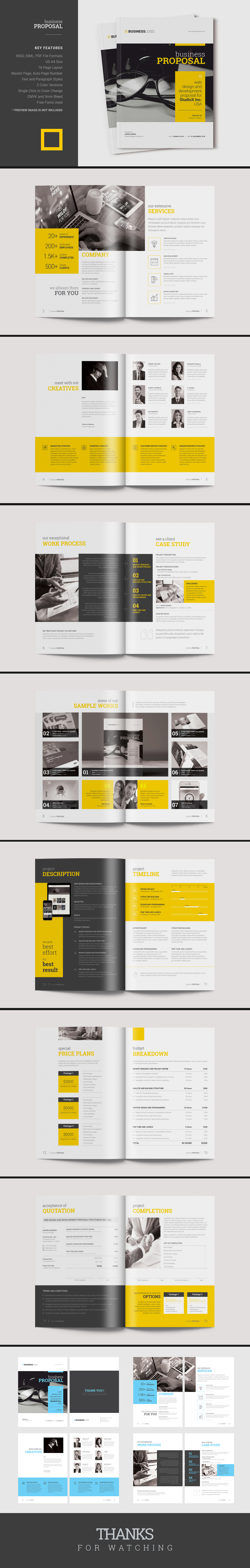 Pages Professional Business Proposal Template Can Be