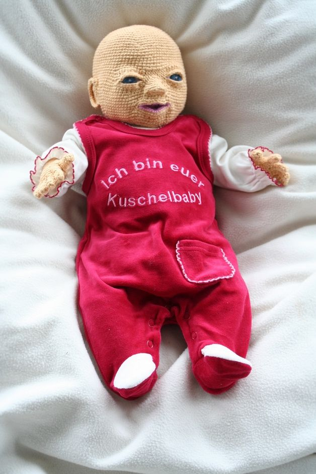 Häkelanleitungen - Häkelanleitung Babypuppe Emily - ein ...