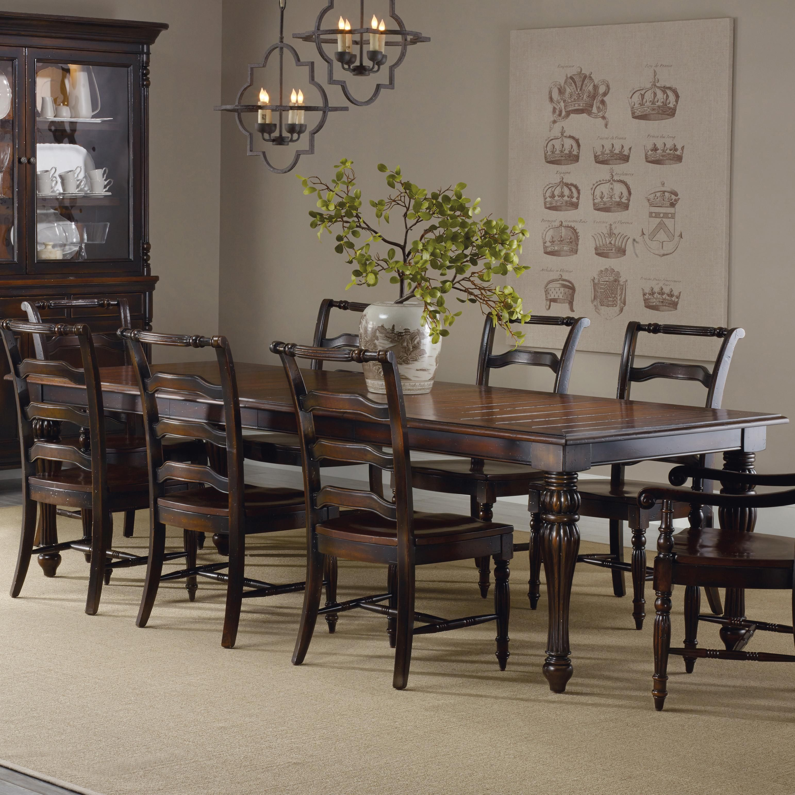 eastridge rectangle dining table by hooker furniture my style