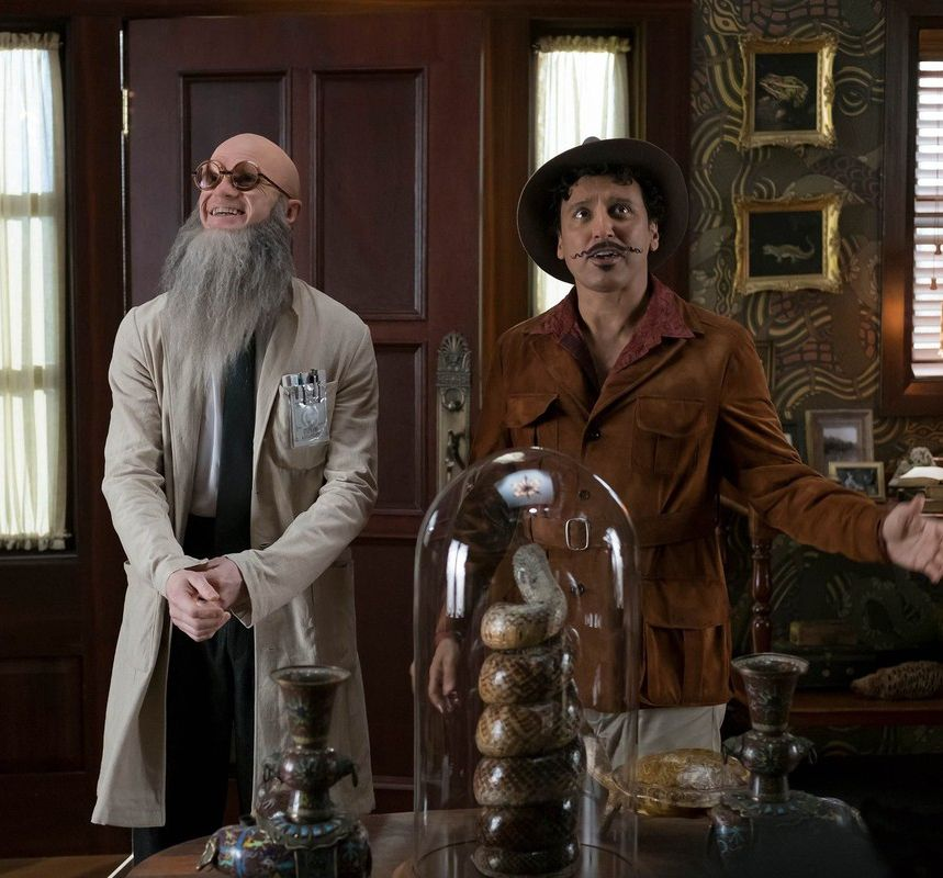 Count Olaf Disguised As Stephano Uncle Monty A Series Of Unfortunate Events A Series Of Unfortunate Events Netflix Reptile Room