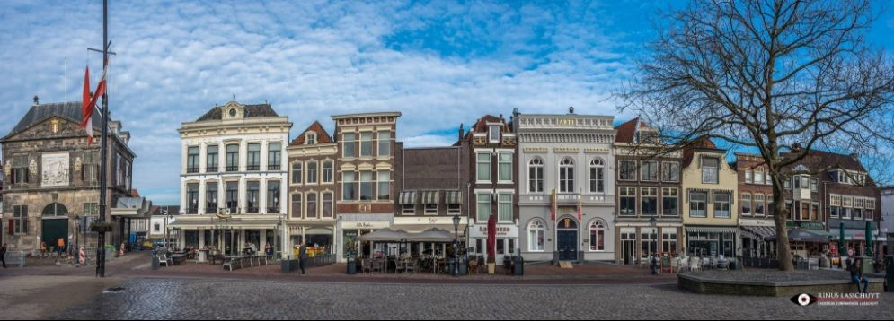 """Gouda city center the """"Markt"""""""