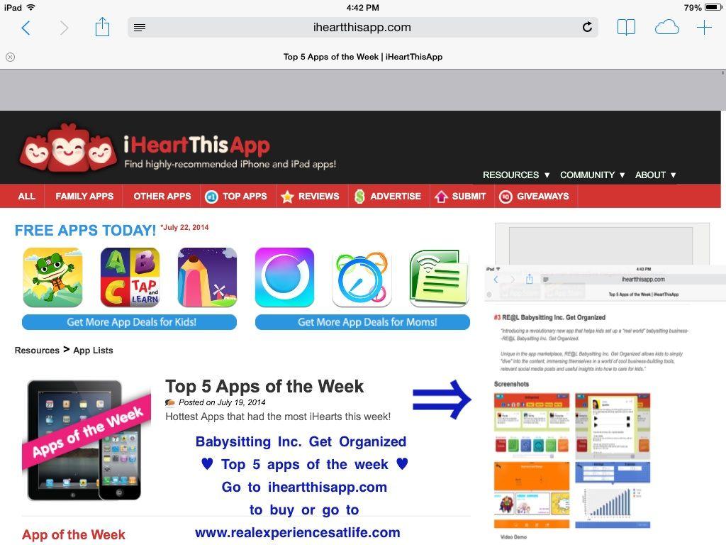 New babysitting inc. app practical life skills for kids