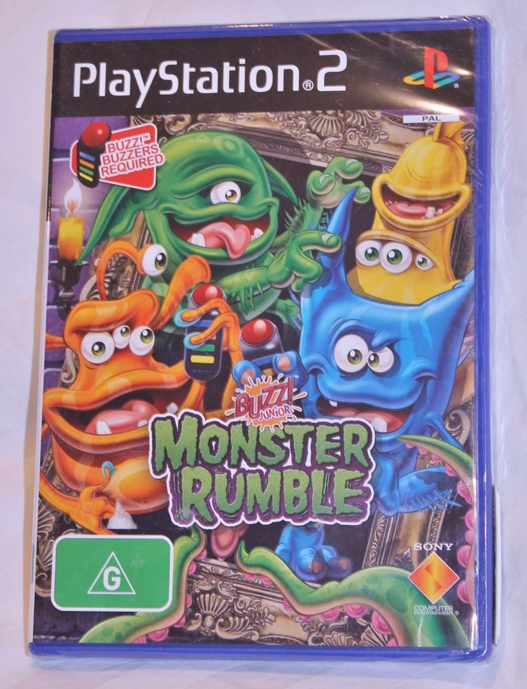 Details about PLAYSTATION PS2 BUZZ! JUNIOR MONSTER RUMBLE