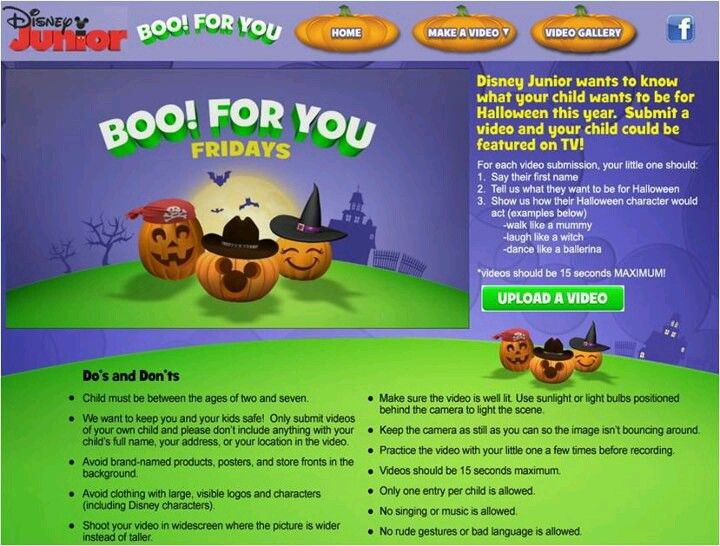 in honor of disney juniors boo for you we want to know what your