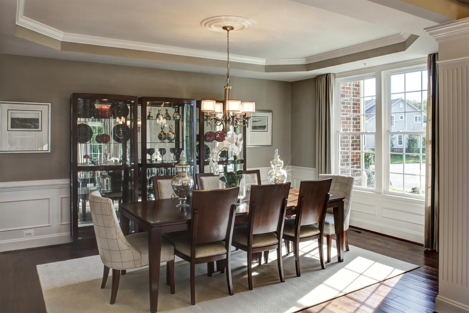 New Chapel Hill Home Model For Sale Dining Room