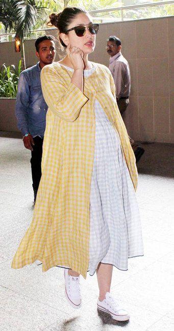 4973a5023e The Best Looks Of Kareena Kapoor Khan s Pregnancy Style ...