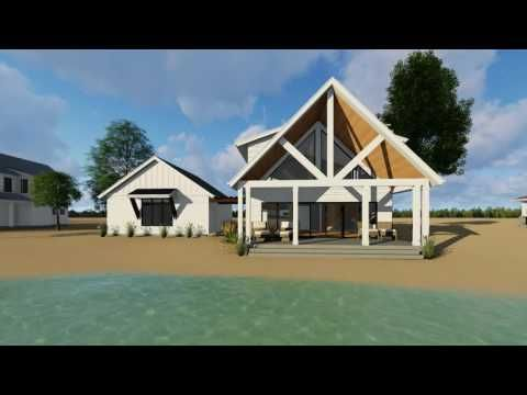 Thompson falls a 1 5 story modern farmhouse cabin plan by advanced house plans ahp cabin plans pinterest modern farmhouse cabin and modern