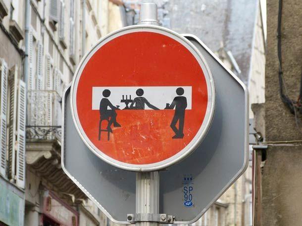 Bien connu Street Art et Panneaux de Signalisation – Clet Abraham | Panneau  IK62