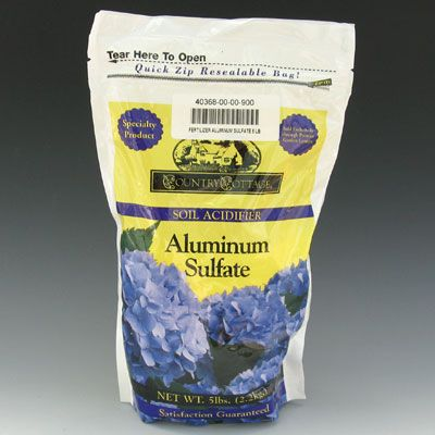 Charming Aluminum Sulfate Fertilizer 4 Lb