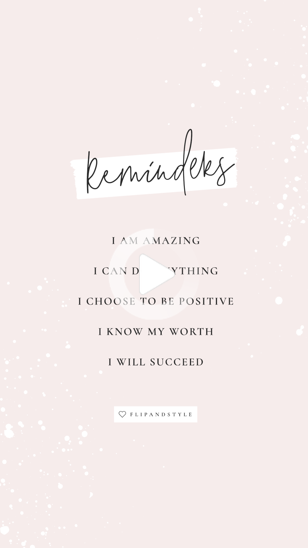 Daily reminders ♡