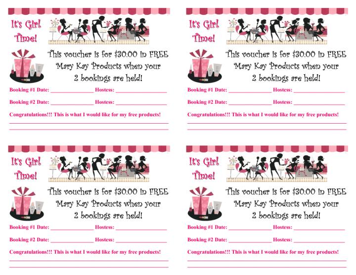 Mary Kay Flyers Templates Printable Party Invitations