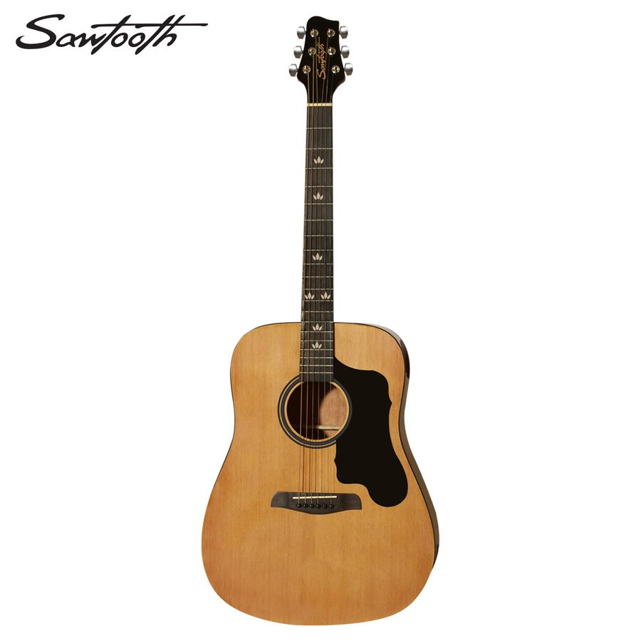 Sawtooth Full Size Dreadnought Acoustic Guitars Offer Rich Sound And Tremendous Value To All Aspiring Guitarists Great For An Guitar Acoustic Guitar Pickguard