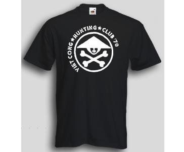 T-Shirt Vietcong Hunting Club 2 / mehr Infos auf: www.Guntia-Militaria-Shop.de
