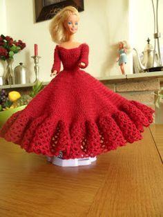 Barbie Haken Gratis Patroon Barbie Kleedjes Haken Häkeln