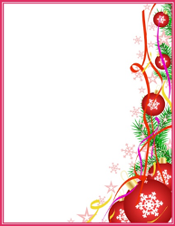 Christmas Letterhead Printable Geographics Stationery | Border ...