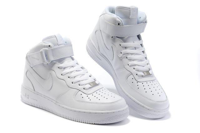 nike air force 1 womens white high top