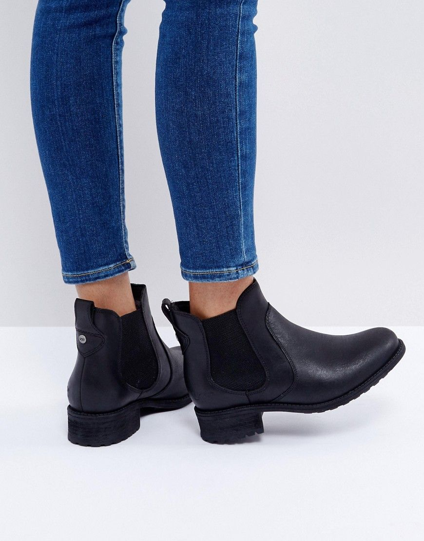 954e6d43d4c UGG Bonham Stout Leather Chelsea Boots - Black | Clothes | Black ...