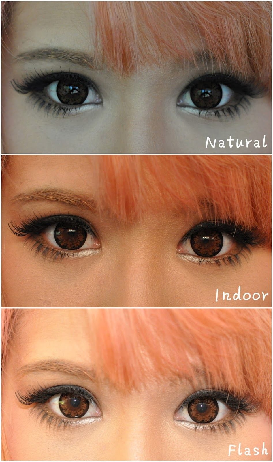 brown and hazel color contact lenses add a vivid sheen to your eyes let your - Colored Contacts Hazel