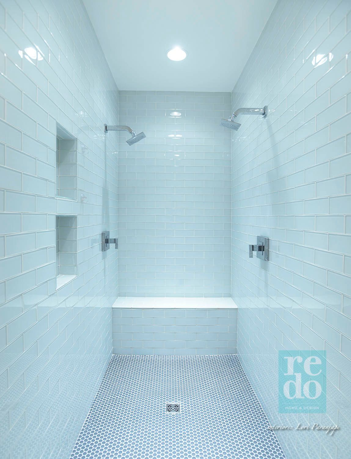 Shower for two: http://blog.redoyourhouse.com/meetmeinthebathtub ...