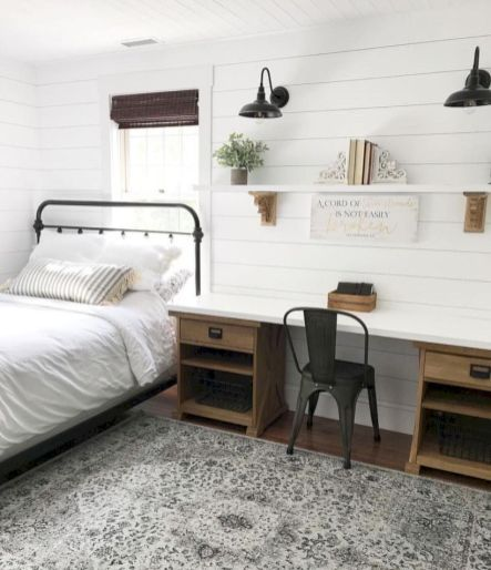 40 Guest Bedroom Ideas: 40 Amazing Ideas To Convert Room Into Farmhouse Bedroom