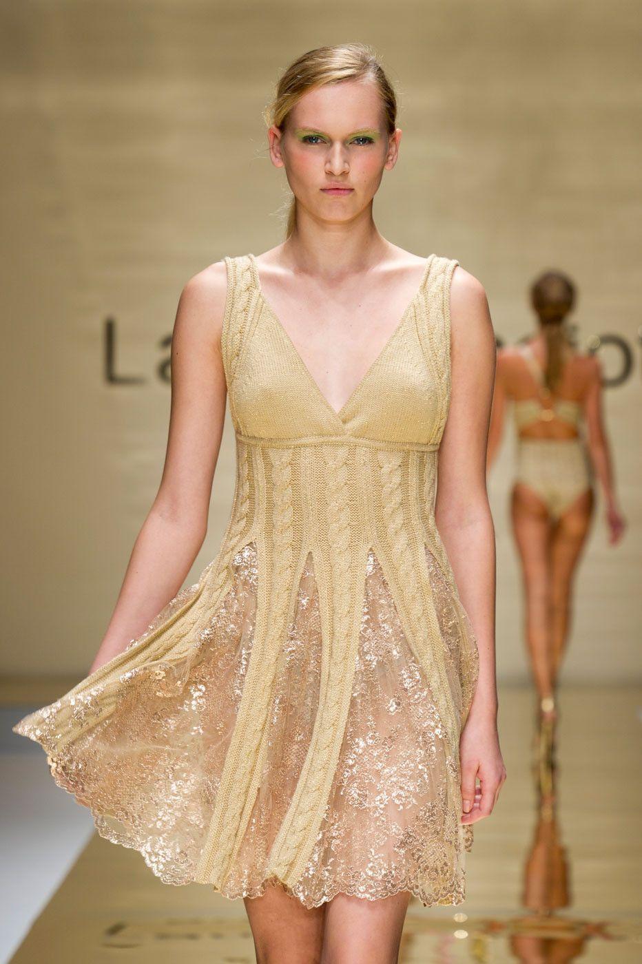 Laura Biagiotti at Milan Fashion Week Spring 2012.