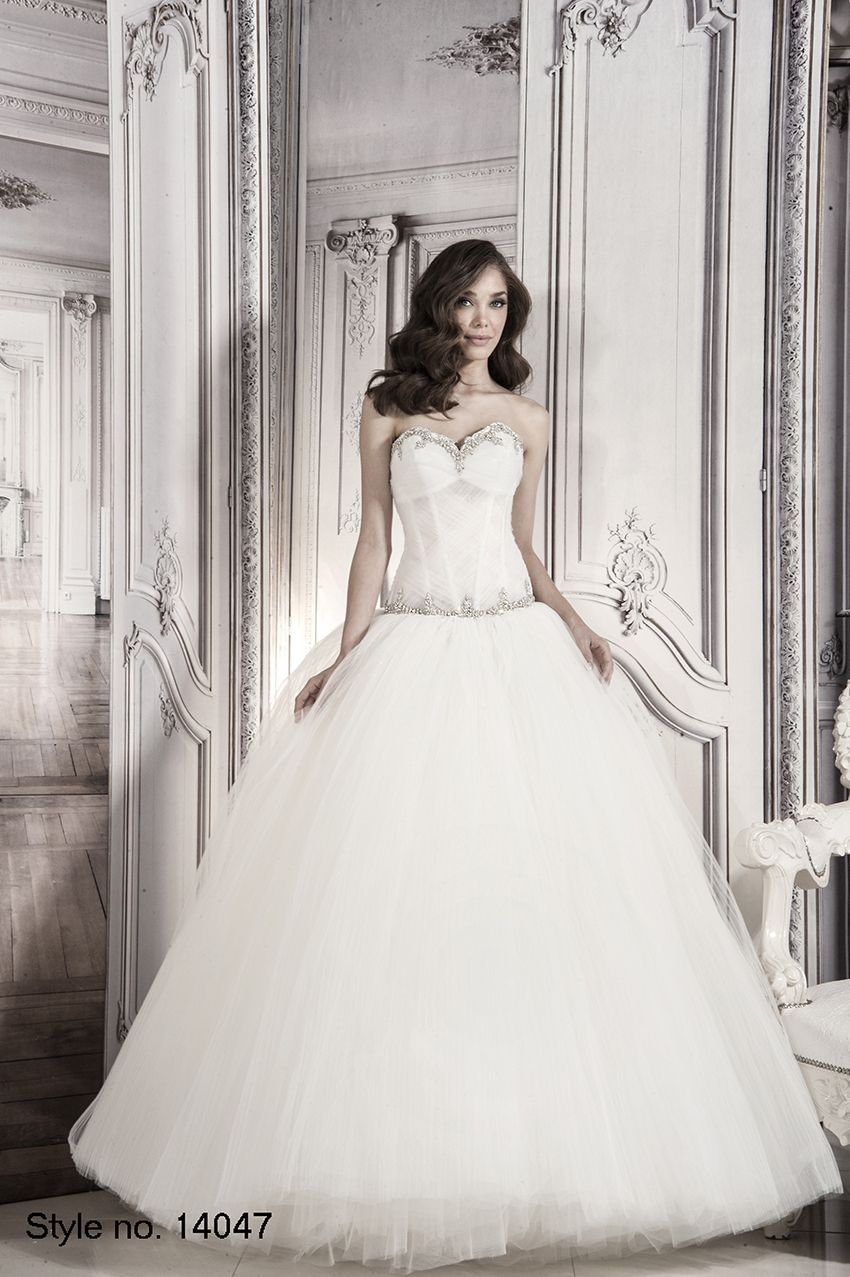 #pnina_tornai #bridal dress style no. 14047