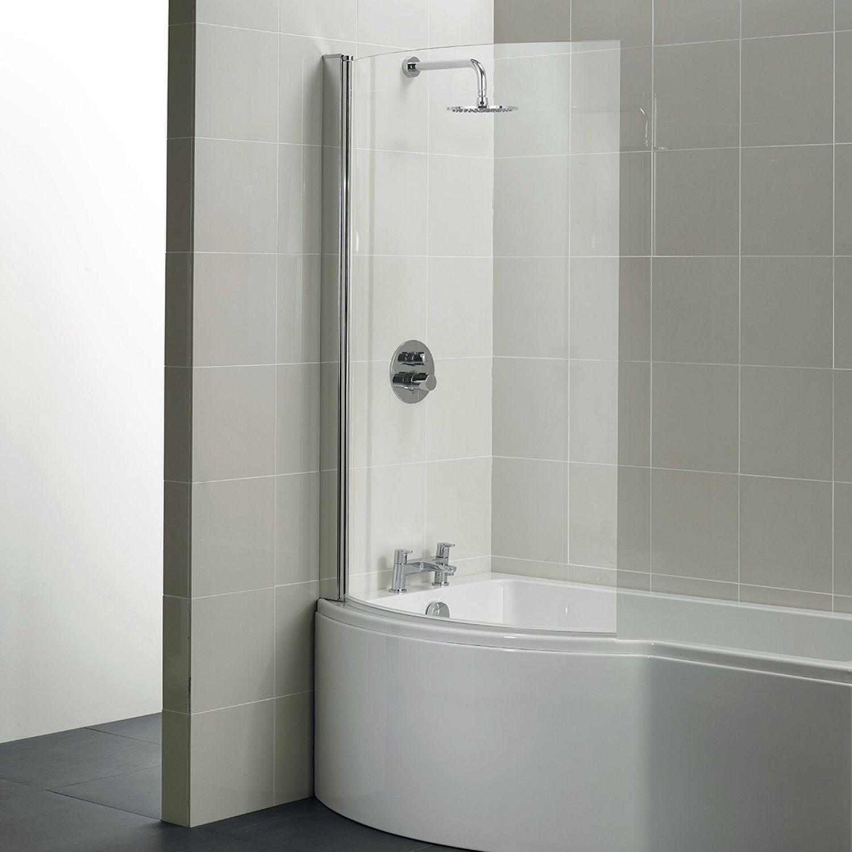 Santorini Shower Over Bath Screen 1000mm