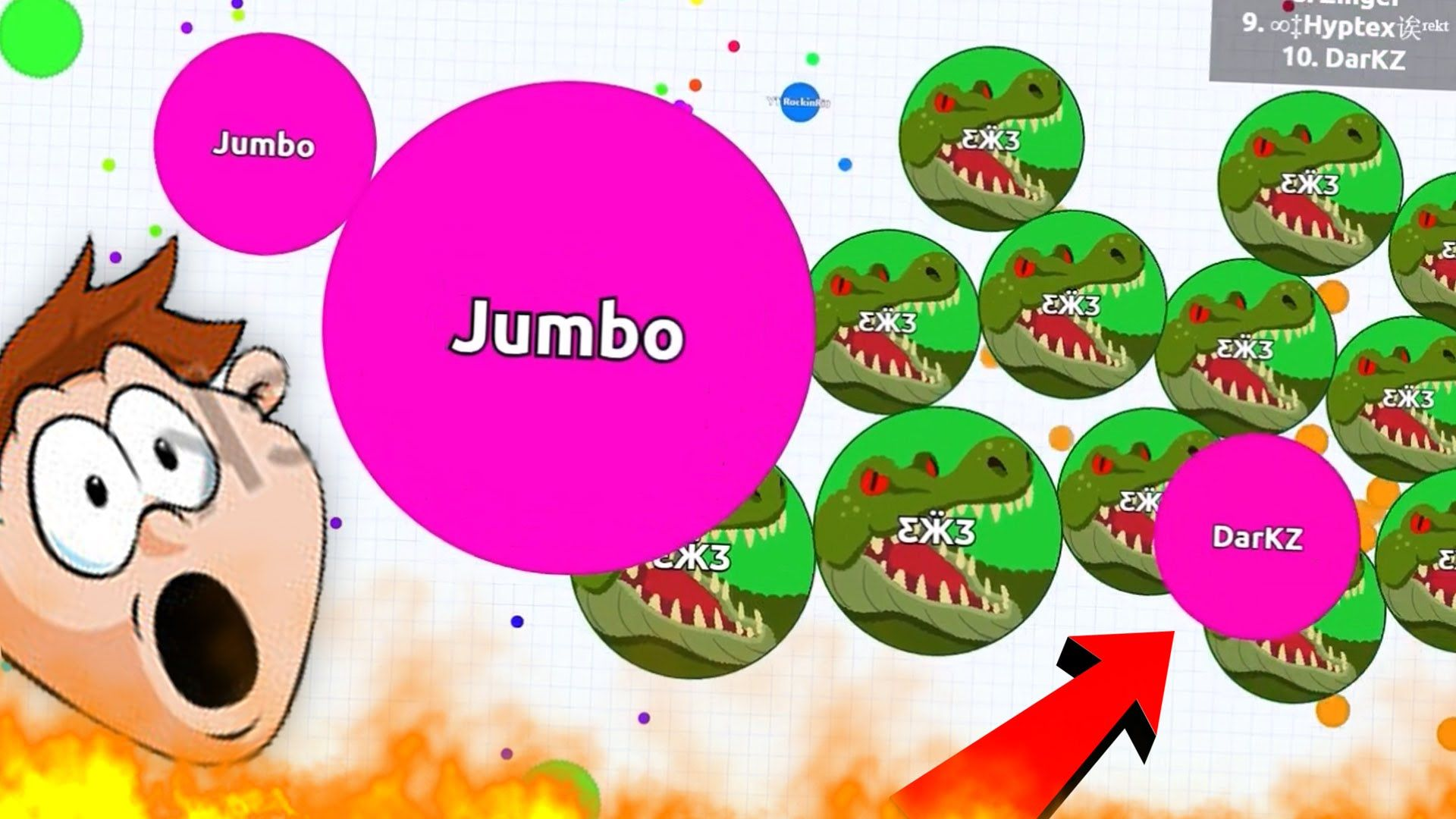 Lol Funny Gameplay Solo Agario Gameplays Agar Io