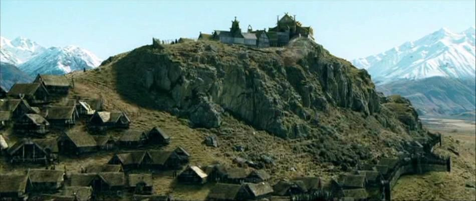 Edoras, NZ -- Rohan | Tierra media, Hobbit