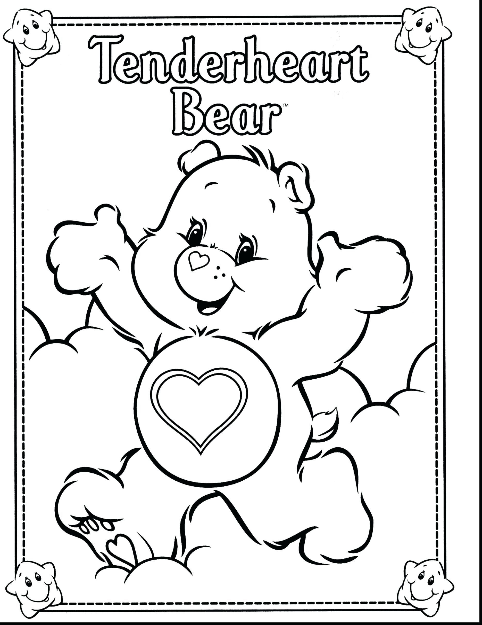 30 Lovely Care Bears Coloring Pages In 2020 Bear Coloring Pages Teddy Bear Coloring Pages Cartoon Coloring Pages