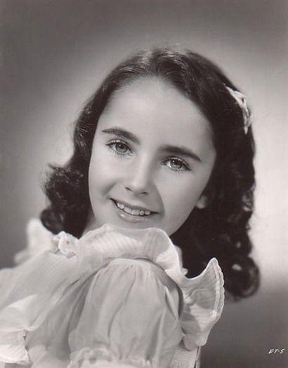 Elizabeth Taylor, age 10