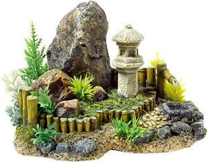 Classic zen garden plants aquarium ornament fish tank for Decoration zen aquarium