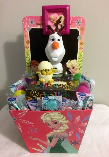Wine Gifts - $30 @Ebay FROZEN Happy Easter Olaf Gift Basket #Frozen
