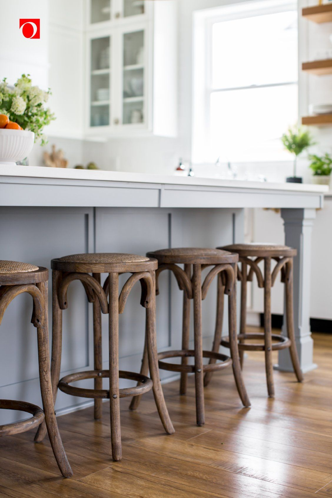 Create A Stylish Eating Area At A Kitchen Island Or Add Extra